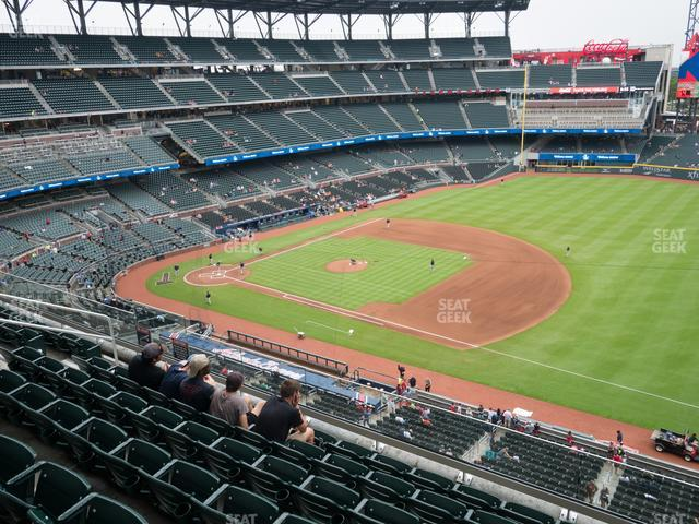 Truist Park Section 316 view