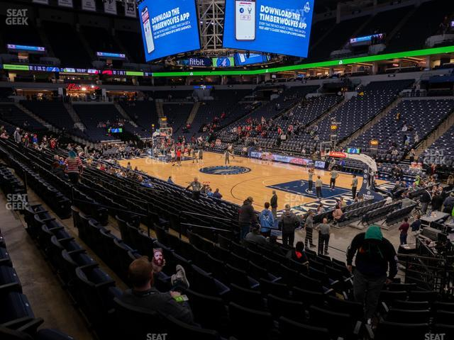Target Center Section 106 view