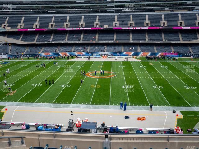 Soldier Field Section 336 view