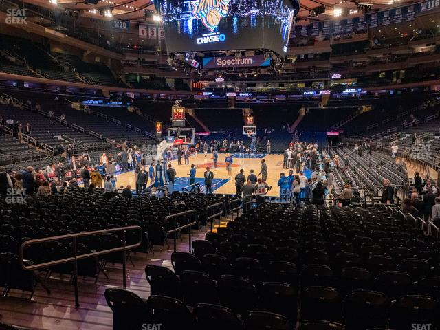 Madison Square Garden Section 9 view