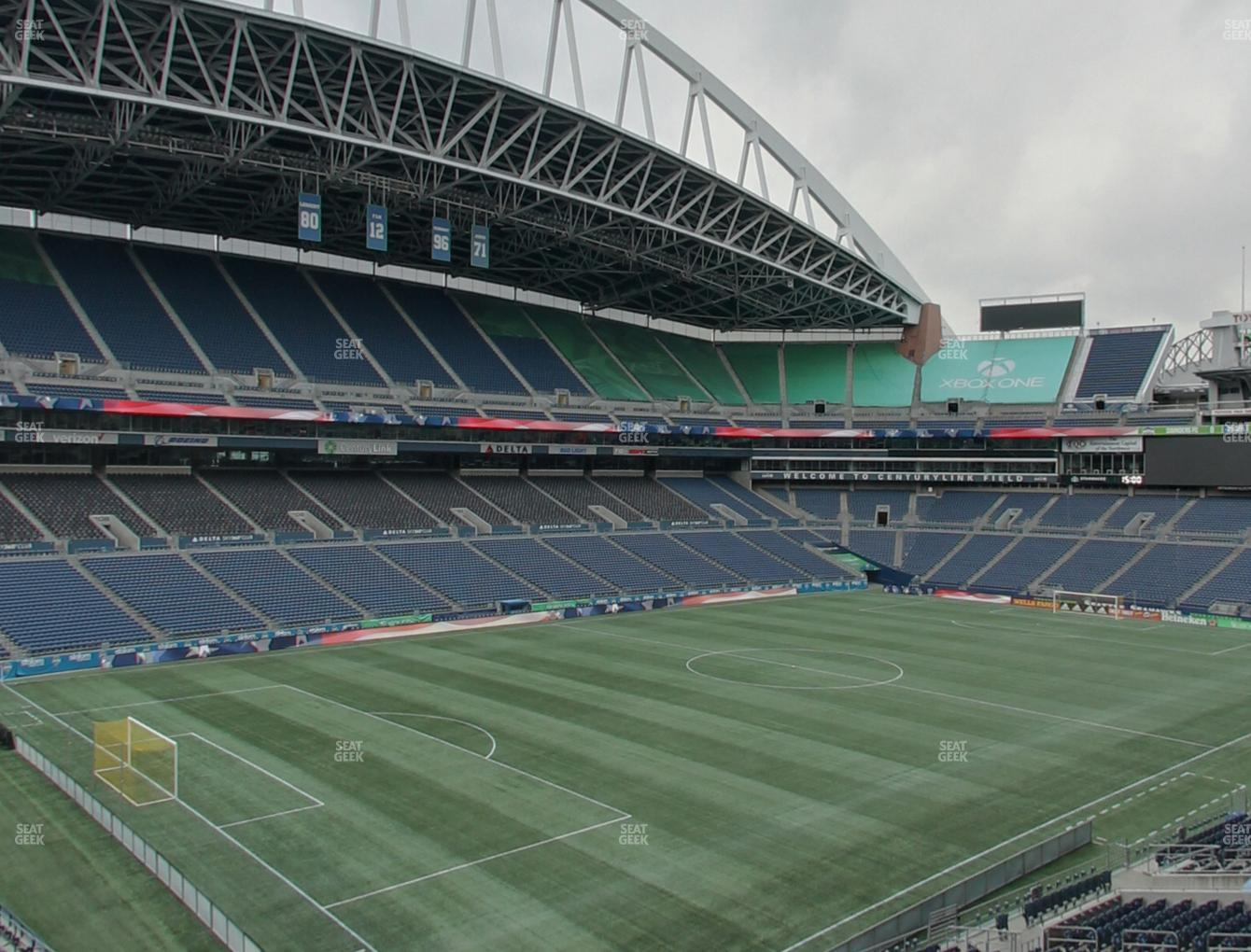 Seattle Sounders FC at CenturyLink Field Section 142 View