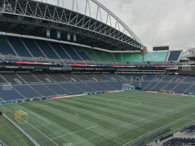 CenturyLink Field Section 142 view