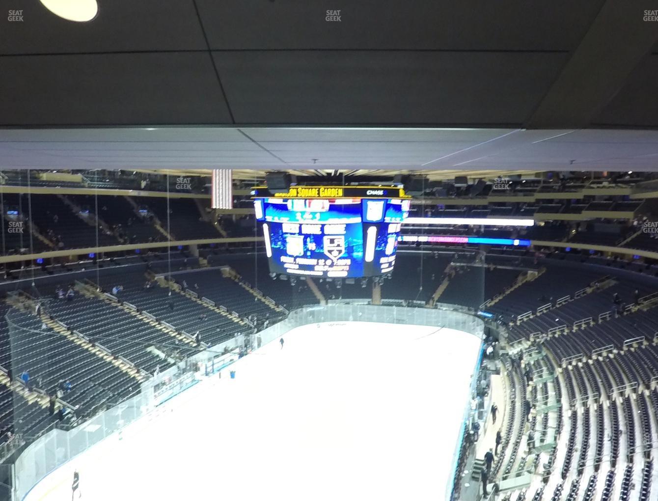 Madison Square Garden: Madison Square Garden Section 418 Seat Views