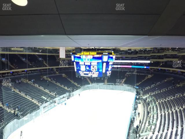 Madison Square Garden Section 418 view