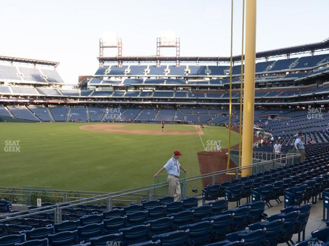 Citizens Bank Park Section 141 view