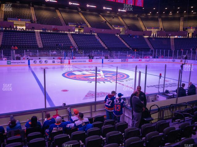 Nassau Veterans Memorial Coliseum Section 4 view