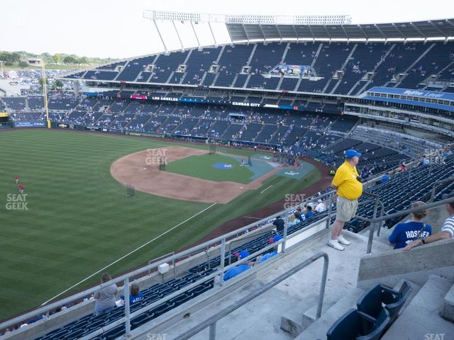 Kauffman Stadium Section 402 view