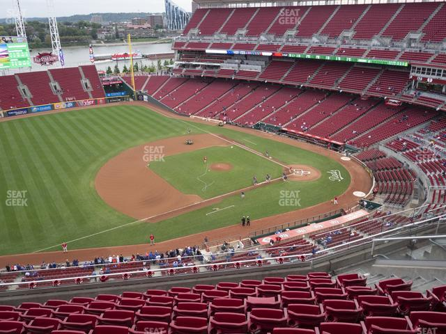 Great American Ball Park Section 515 view
