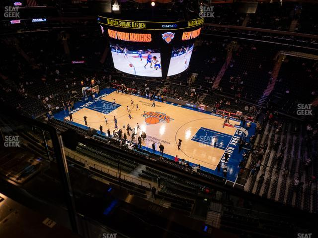 Madison Square Garden Section 327 view