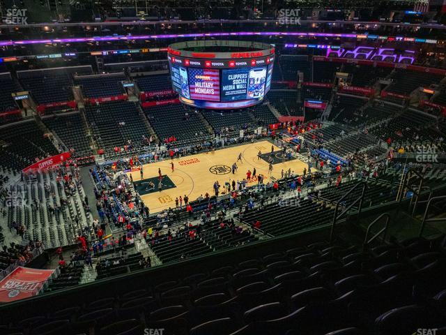 Staples Center Section 303 view