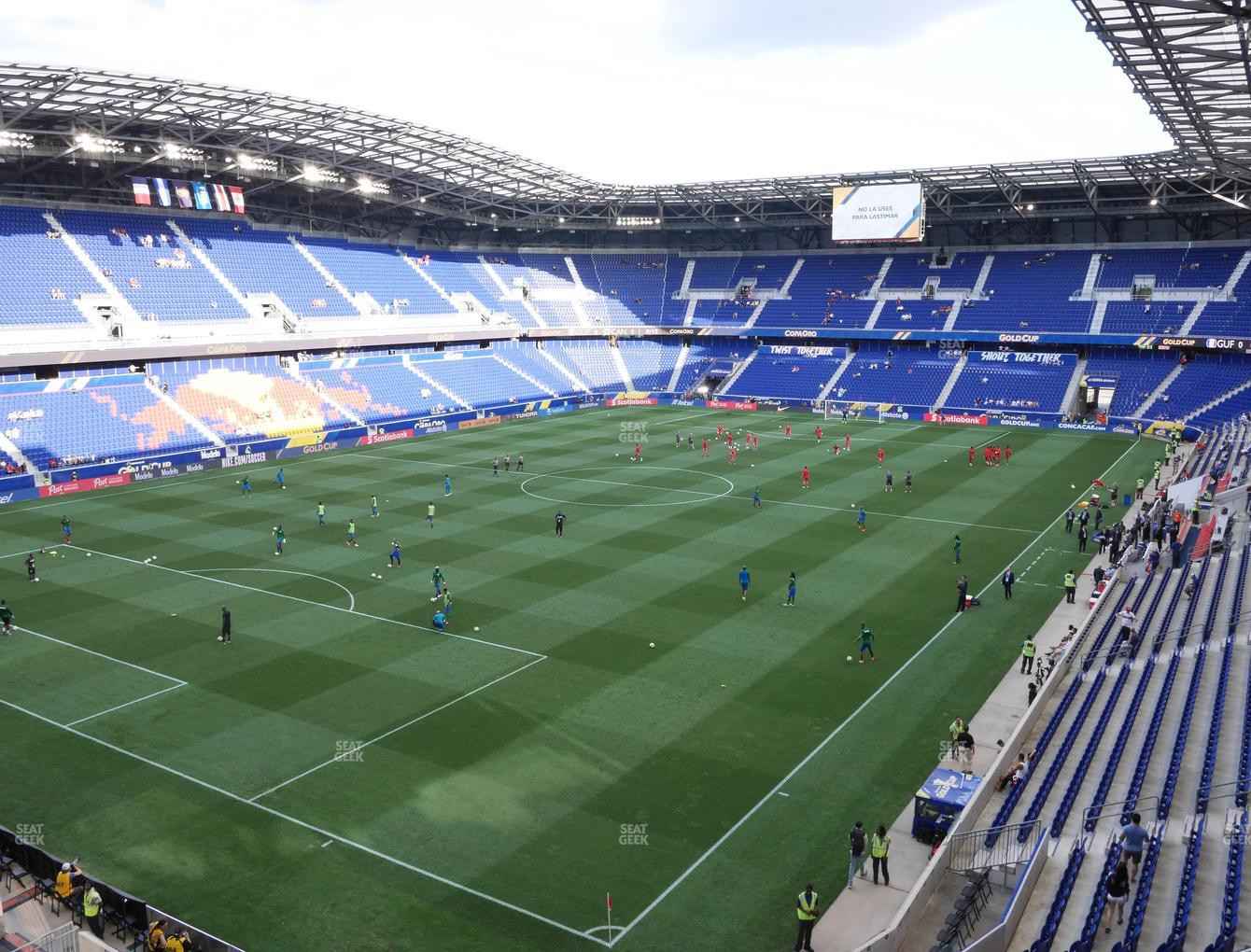 New York Red Bulls at Red Bull Arena Section 215 View