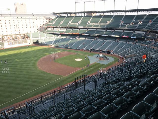 Oriole Park at Camden Yards Section 362 view