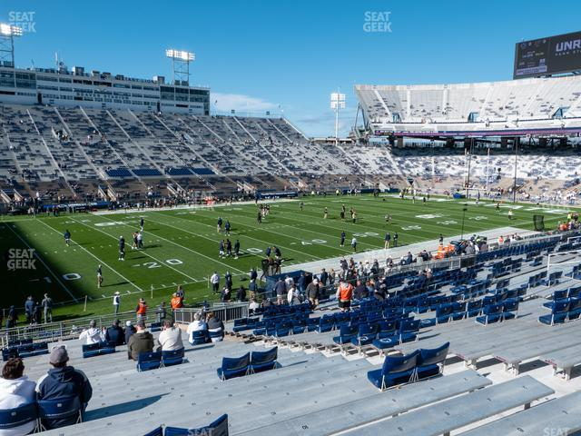 Beaver Stadium Section East B view