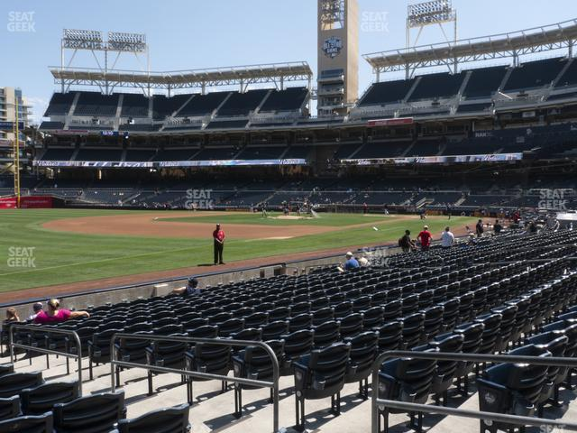 Petco Park Section 118 view