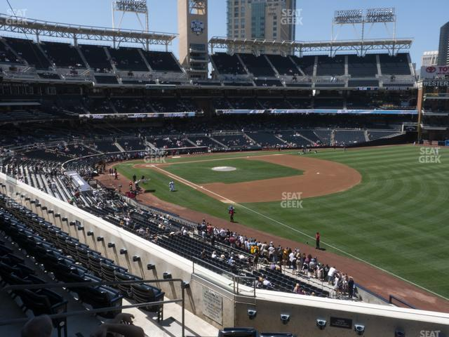 Petco Park Section 219 view