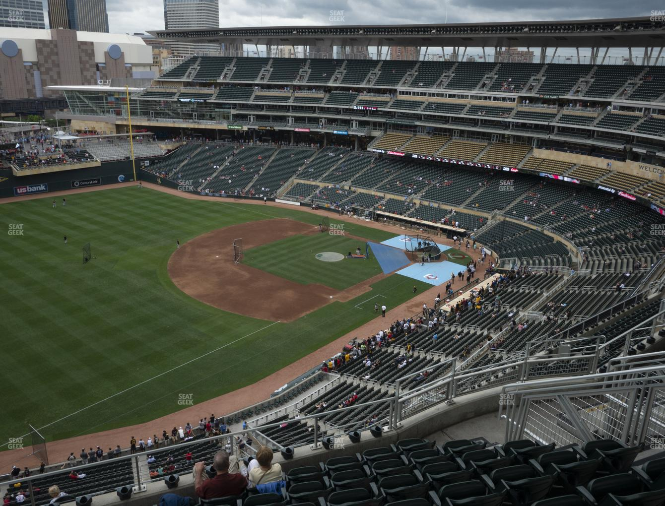 Minnesota Twins at Target Field Section 326 View