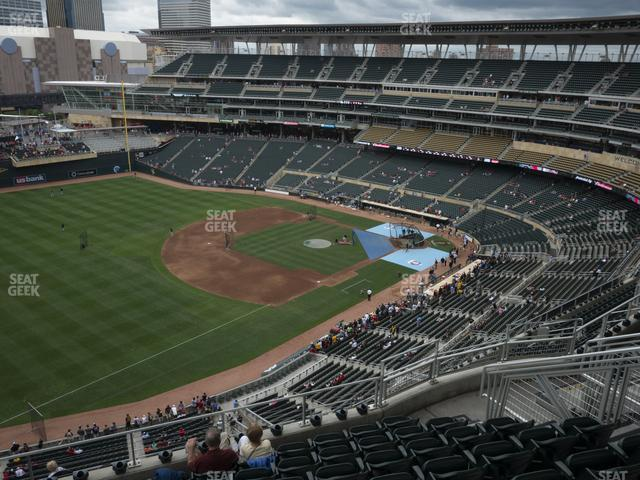 Target Field Section 326 view