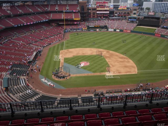Busch Stadium Infield Terrace 446 view