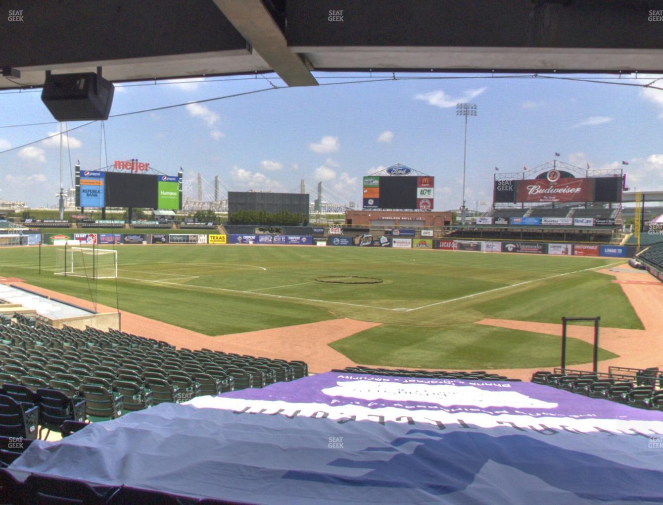Louisville Slugger Field Section 116 Seat Views Seatgeek