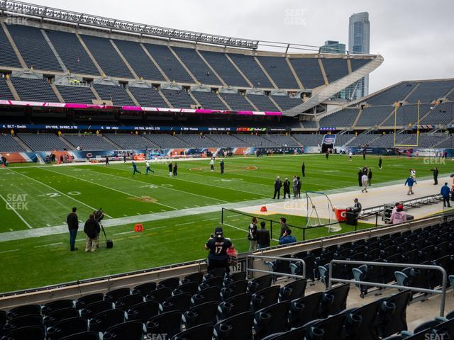 Soldier Field Section 113 view