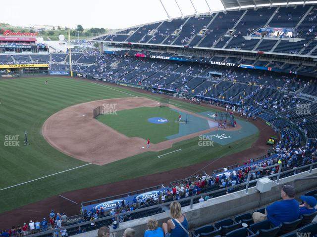 Kauffman Stadium Section 407 view