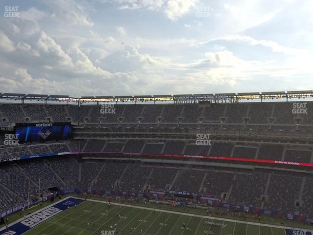 MetLife Stadium Section 311 view