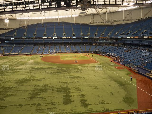Tropicana Field Section 349 view