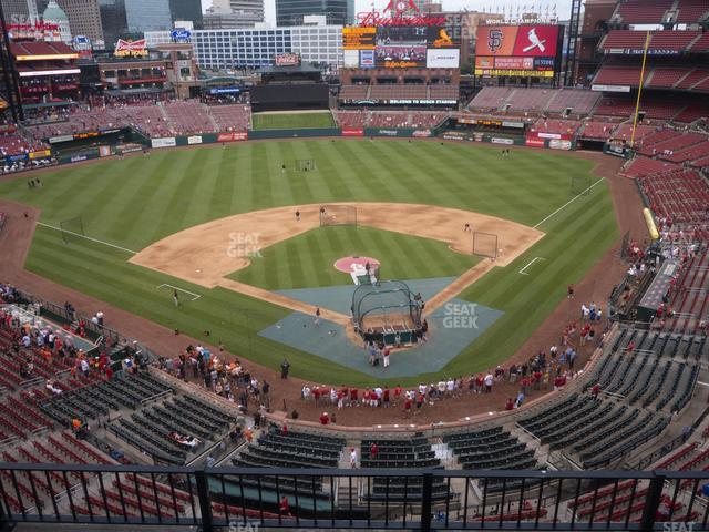 Busch Stadium Home Pavilion 351 view