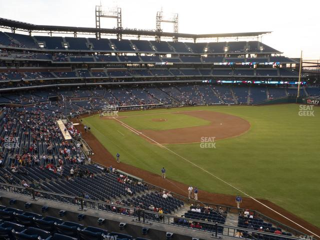 Citizens Bank Park Section 208 view