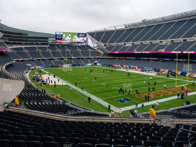 Soldier Field Section 256 view