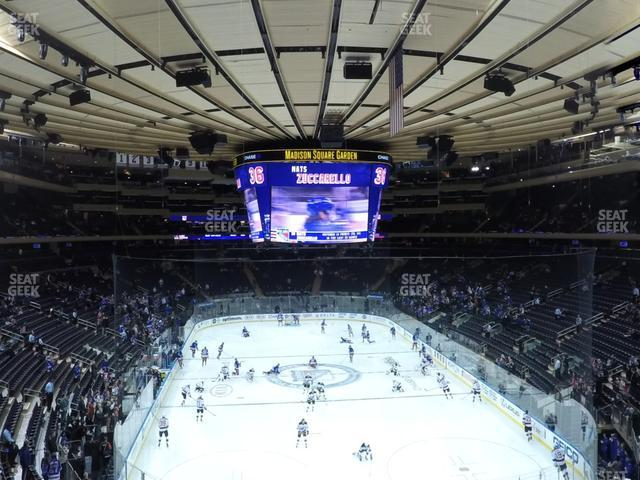 Madison Square Garden Section 217 view