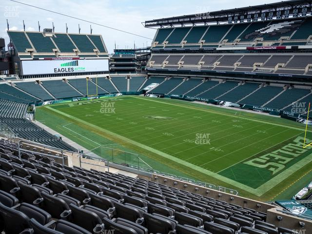 Lincoln Financial Field Section C 6 view