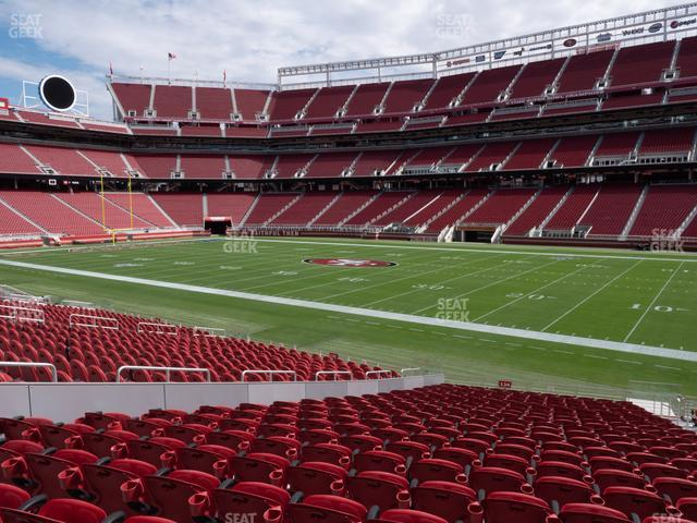 Levi's Stadium Section 134 view