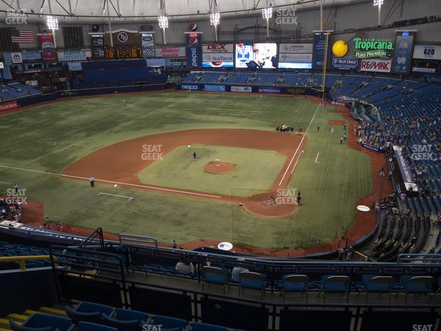 Tropicana Field Section 305 view