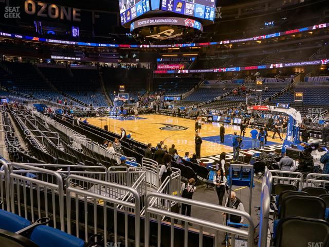 Amway Center Section 112 view