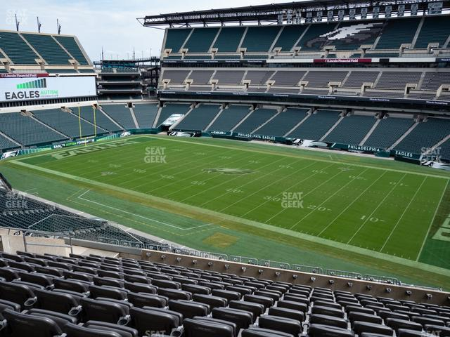 Lincoln Financial Field Section C 4 view