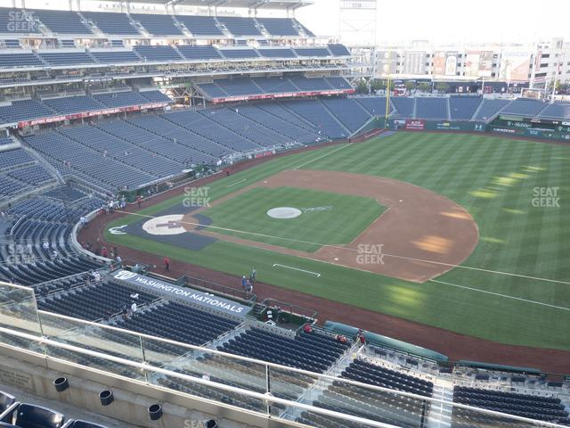 Nationals Park Section 321 view