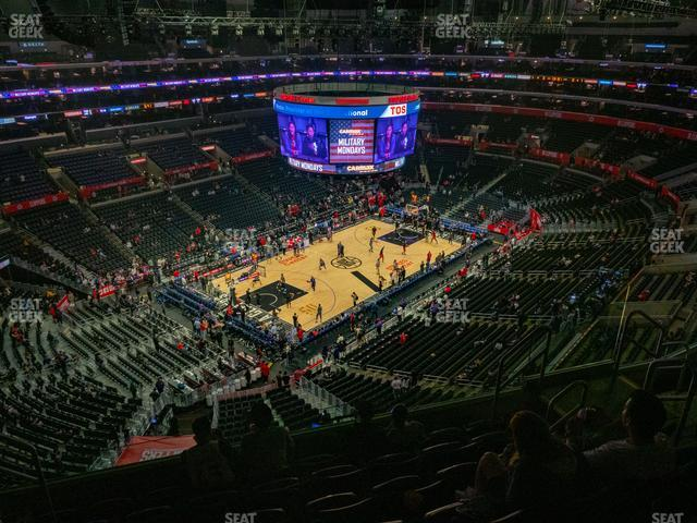 Staples Center Section 322 view