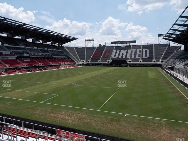 Audi Field Section 135 view