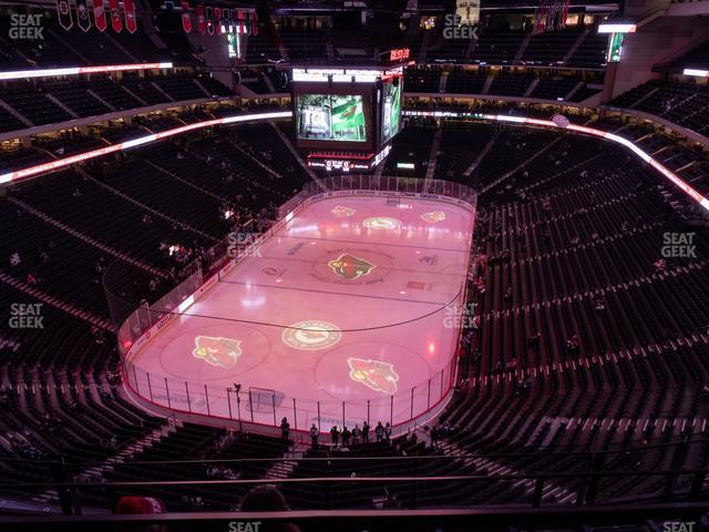 Xcel Energy Center Section 210 view