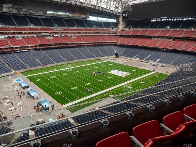 NRG Stadium Section 538 view