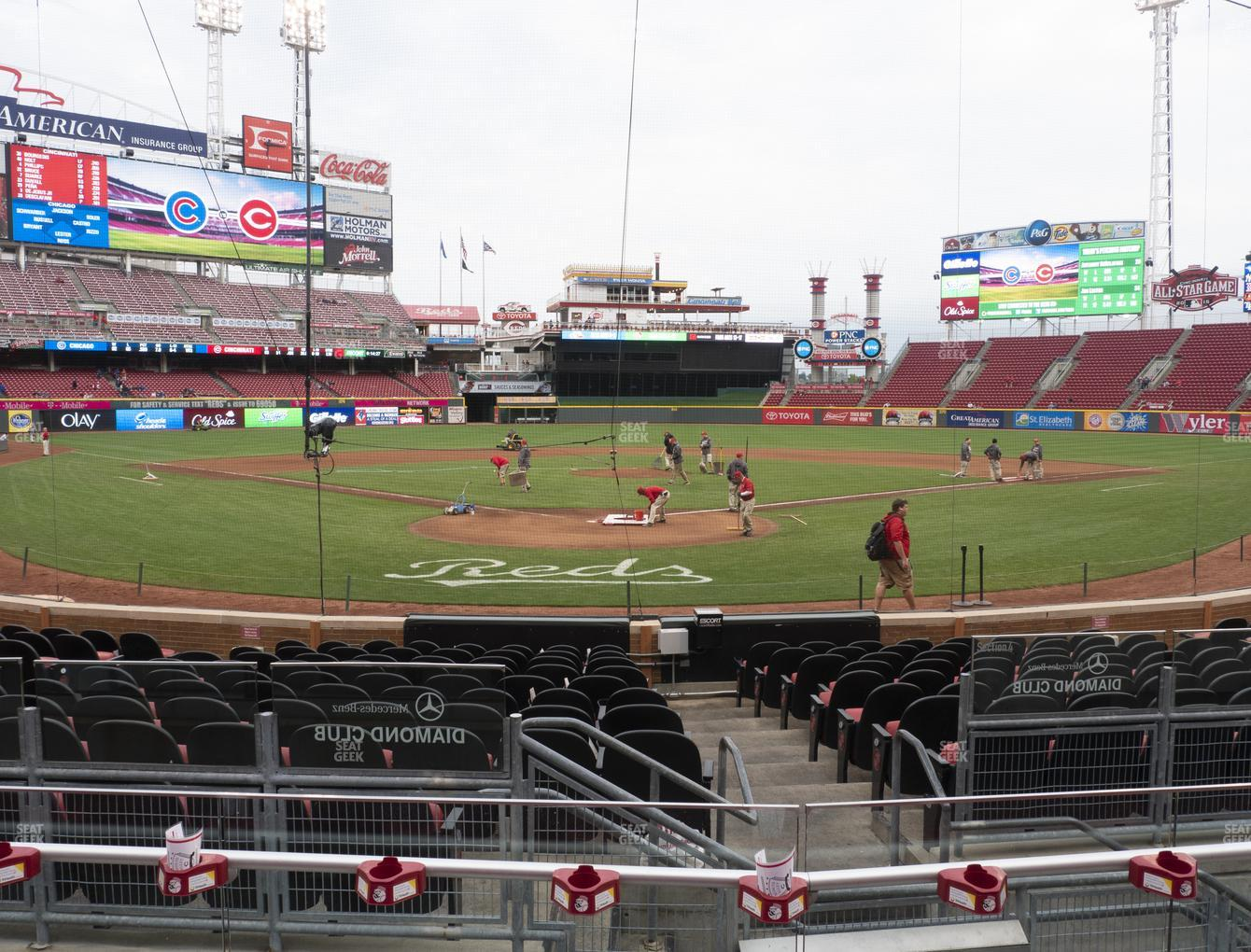 Cincinnati Reds at Great American Ball Park Section 23 View