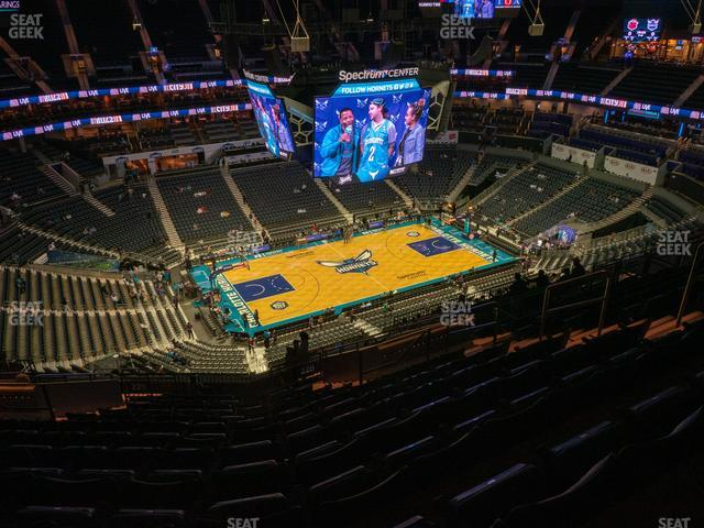 Spectrum Center Section 228 view
