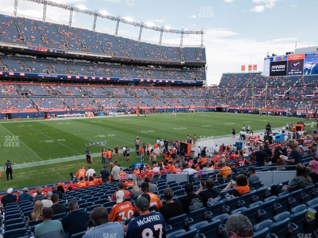 Empower Field at Mile High Section 108 view