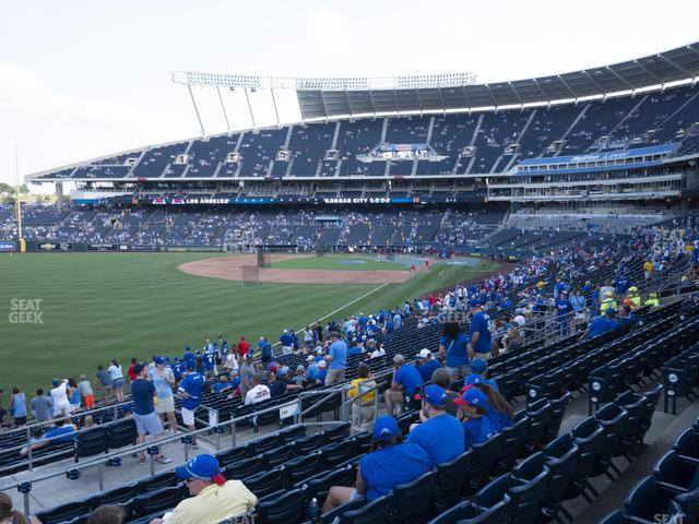 Kauffman Stadium Section 208 view