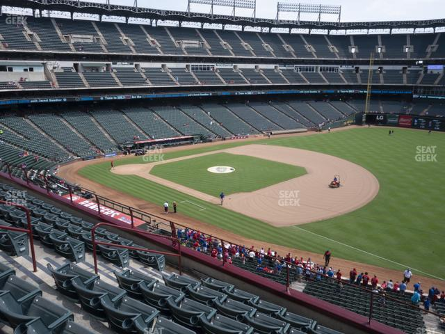 Globe Life Park Section 238 view