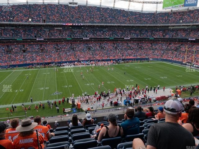 Empower Field at Mile High Section 339 view
