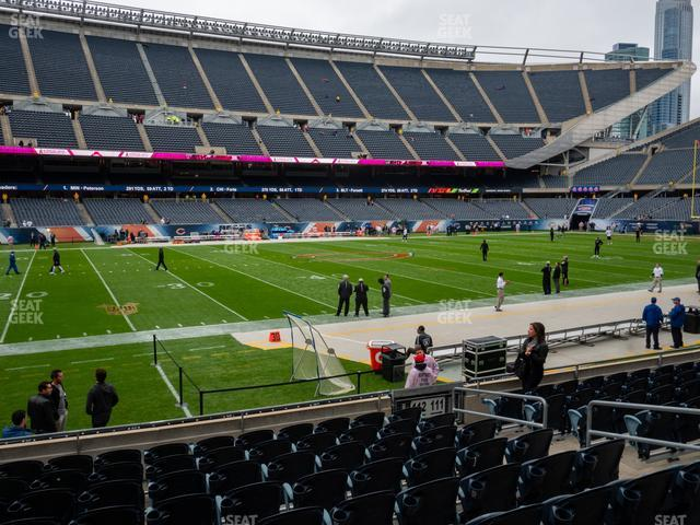 Soldier Field Section 112 view