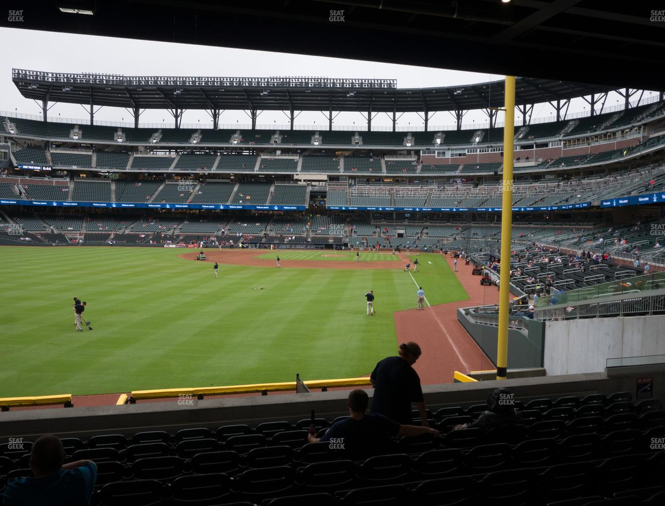 Atlanta Braves at SunTrust Park Section 144 View