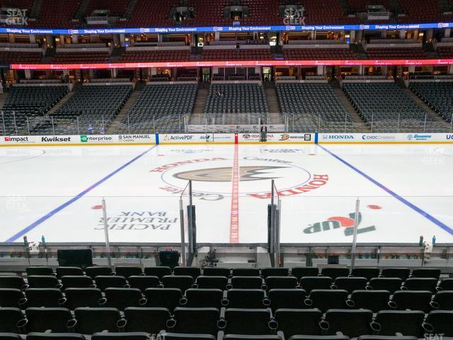 Honda Center Section 208 view